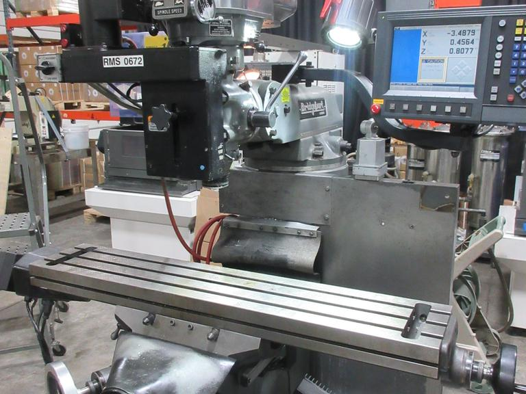 Bridgeport by Hardinge 3-Axis CNC Vertical Knee Mill with Acu-Rite Millpwer 2 CNC Control