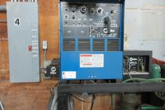 Miller Syncrowave 250 Constant Current AC/DC MIG Welder with Miller Radiator 1A Cooler - SINGLE PHASE