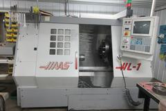 Haas HL-1 CNC Turning Center with SMW SPacesaver Bar Loader