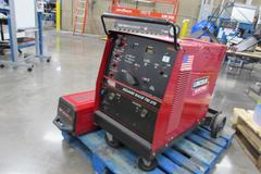 Lincoln Square Wave TIG 275 Welder with Torch, Cables, Chiller and Cart - SINGLE PHASE