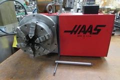 Haas HRT-160  Programmable Rotary Table (Brush Drive Motor)  with 6 -Jaw Chuck