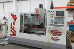 Haas VF-4 CNC Vertical Machining Center with 4th Axis Drive
