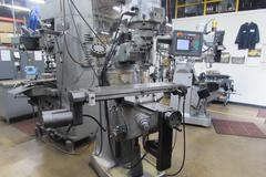 Bridgeport Series I CNC Vertical Milling Machine with ProtoTrak Edge 2-Axis CNC Control