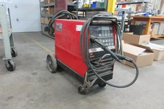 Lincoln Idealarc SP-255 Wire Feed MIG Welder with Cart  - SINGLE PHASE