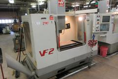 Haas VF-2 Vertical Machining Center with 2-Speed Gearbox, Through-Spindle Coolant, Chip Auger, Programmable Coolant Nozzle, 4-th Axis Drive