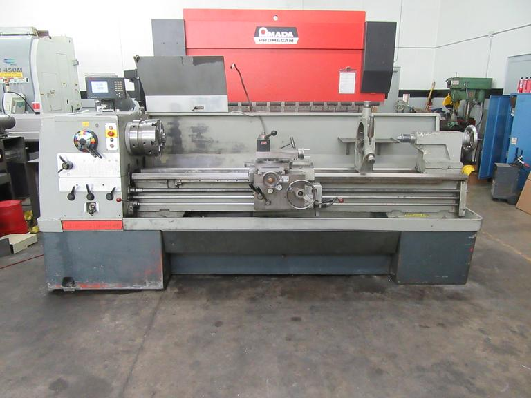 "Clausing Colchester Mastiff 1400 20"" x 80"" Engine Lathe, Geared Head, Taper Attachment, 2 Axis DRO"