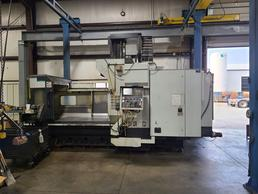 AWEA VP-2012 CNC Bridge Type Vertical Machining Center with Through Spindle Coolant, Probing System, and More!