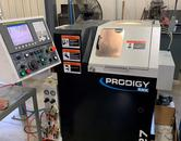 SNK Prodigy GT-27 CNC Gang Tool Lathe, Fanuc Series Oi Control,  C-Axis Programmable Spindle with Pneumatic Driven Live Tools, Barfeeder, and Additional Tooling!