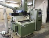 Makino EDNC64 CNC Electrical Discharge Machine (EDM) Sinker, Makino MG/E20 CNC Control, Programmable C-Axis, MA Head, 60 Amps
