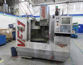 Haas VF-1 with Brushed Type 4th Axis Drive
